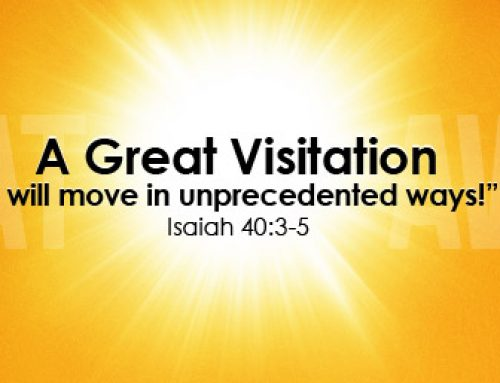 A Great Visitation By My Spirit