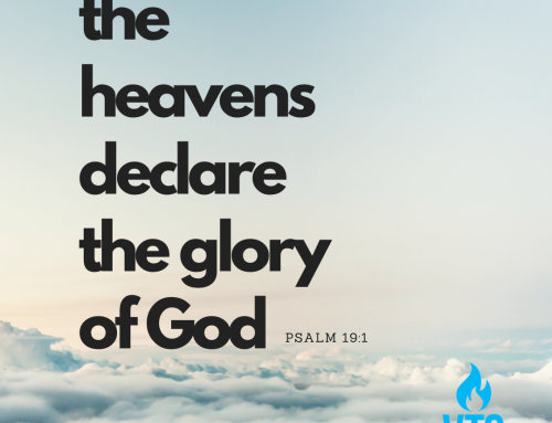 For I Am The Lord of Glory!